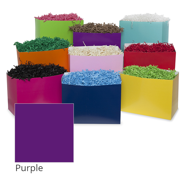 Small Colors Basket Box 7in- Purple