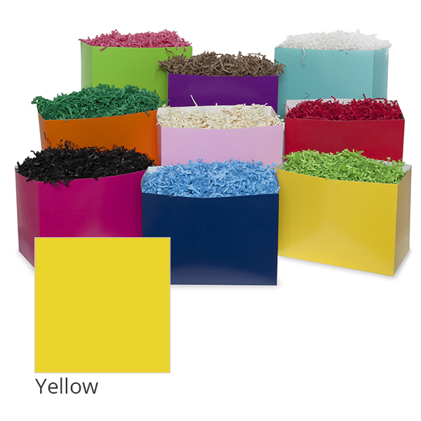 Small Colors Basket Box 7in- Yellow