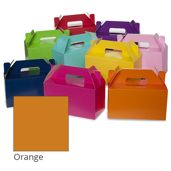 Medium Colors Gable Box 10in