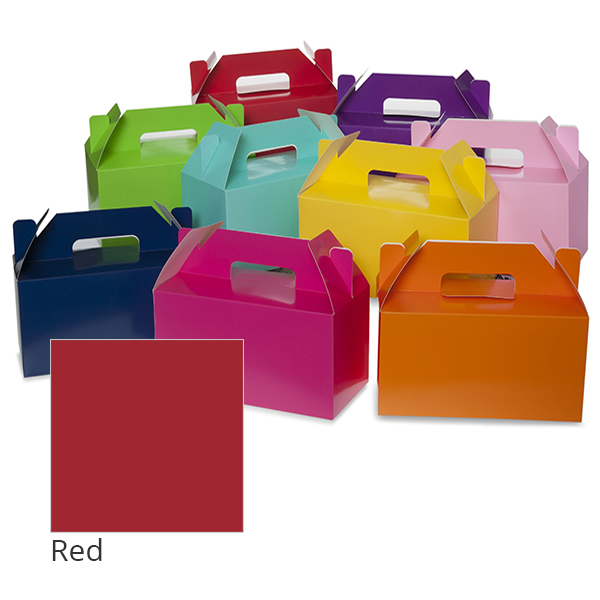 Small Colors Gable Box 9in