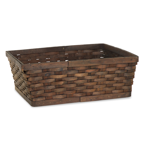 Rect Woodchip Weave Utility Basket Large - Dark Brown 16in  sc 1 st  The Lucky Clover Trading Co. & Storage Baskets for the Home - The Lucky Clover Trading Co.