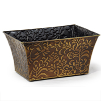 Xavier Small Vine Rectangular - Antique Gold