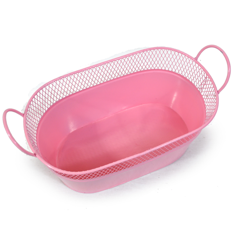Large Oblong Mesh Tray With Handles The Lucky Clover