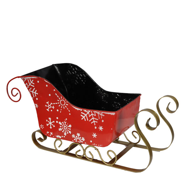 Christmas Sleigh Snow Flakes - Small 8in