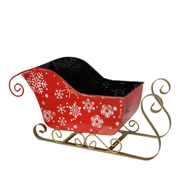 Sleigh Snow Flakes - Large 10in
