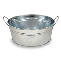 Jillian Medium Classic Round Metal Pail