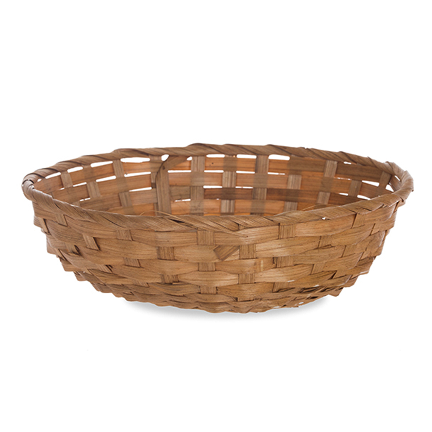 Round Bamboo Utility Tray Basket - 10in