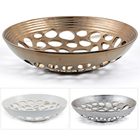 Regalia Honeycomb with Ribbed Trim Bowl