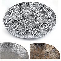 Regalia Pebble Design Tray - Round