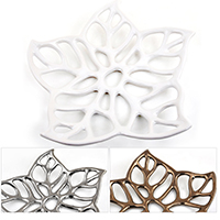 Regalia Floral Leaf Decorative Tray - Small