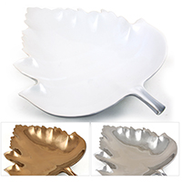 Regalia Leaf Shape Decorative Plate