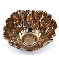 Regalia Ruffled Trim Designer Bowl