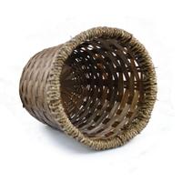 Bamboo Rope 8 Inch Pot