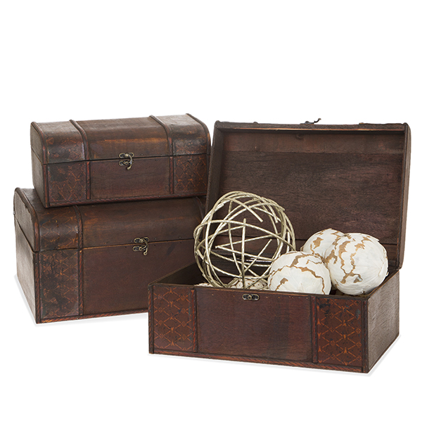 Voyage Collection Diamond Storage Box - Set of Three