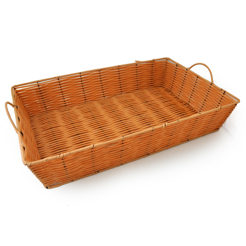 Wicker Tray with Handles - Large The Lucky Clover Trading Co
