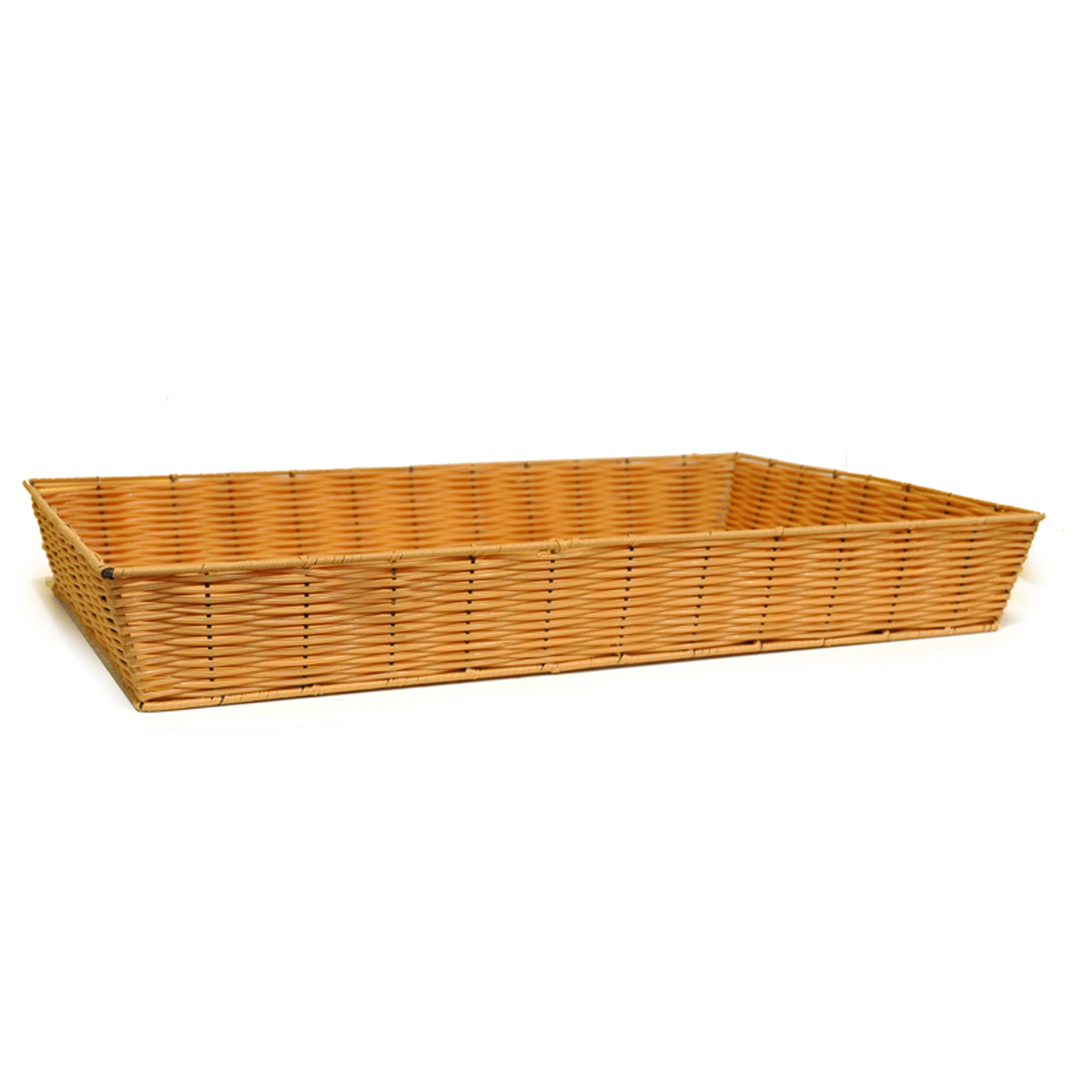 Rect Synthetic Wicker Tray - Extra Large 25in