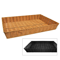 Rectangular Synthetic Wicker Tray - Extra Large