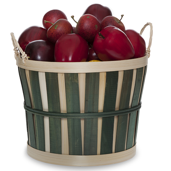 Round Woodchip Bushel Utility Basket - Medium 10in