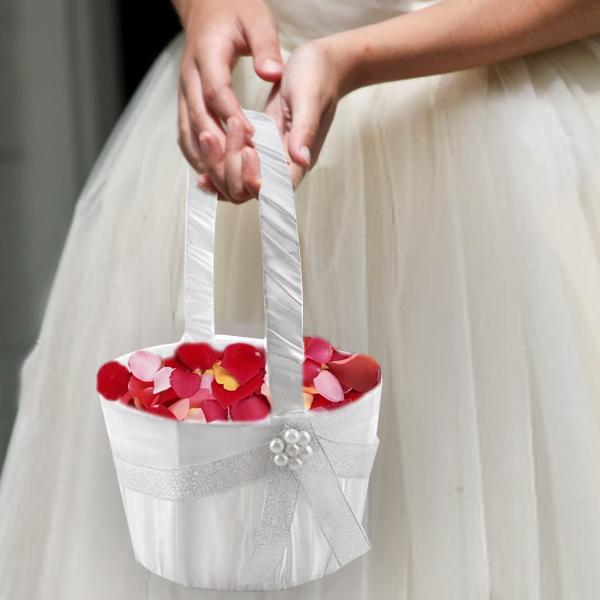 Baskets for saying i do the lucky clover trading co flower girl mightylinksfo