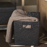 Alexa Large Utility Basket - Black