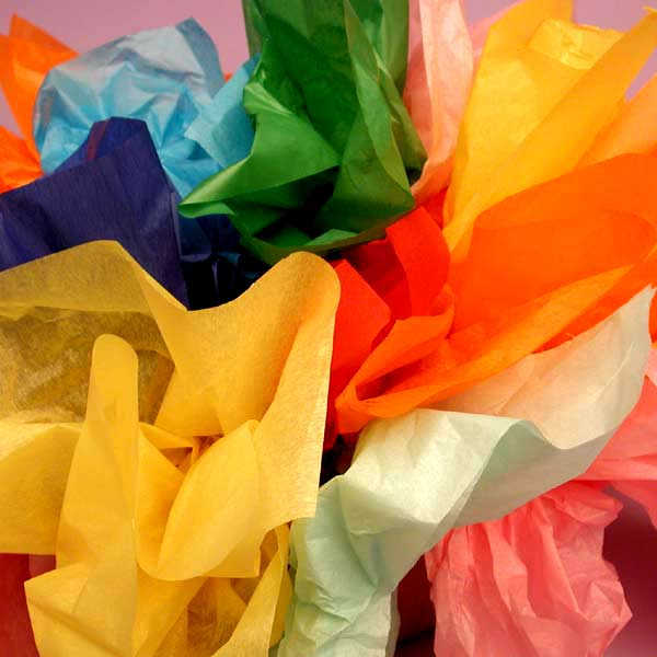 Tissue paper for gift packing the lucky clover trading co colored tissue paper mightylinksfo