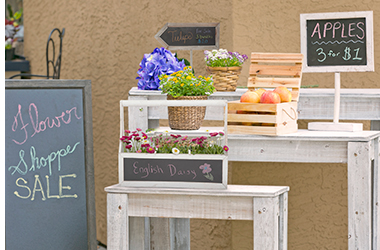 Chalkboard Signs & Store Display >